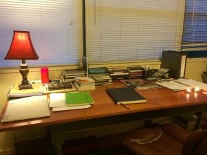 Luke Hankins' Desk